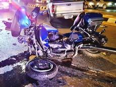 Vượt đèn đỏ, biker điều khiển mô tô Harley-Davidson thiệt mạng vì đâm trúng Isuzu D-Max