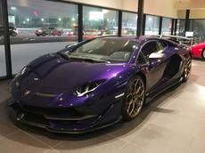 Màu sơn Viola Aletheia đã xuất hiện trên siêu phẩm Lamborghini Aventador SVJ