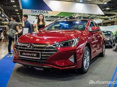 Không thua kém đối thủ Mazda3 2019, Hyundai Elantra 2019 cũng đặt chân đến Đông Nam Á