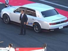 Sếp Toyota mang chiếc Century GRMN có một không hai lên đường đua