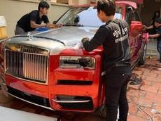 """SUV siêu sang Rolls-Royce Cullinan thứ 3 cập bến Campuchia, nhà giàu Việt lại """"phát thèm"""""""