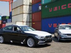 BMW 5-Series 2019 đã cập cảng Việt, chuẩn bị phân phối đến tay khách hàng