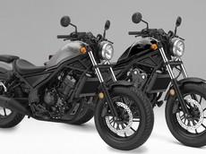 Honda Rebel 250 và Rebel 500 phiên bản 2019 xuất hiện với màu mới