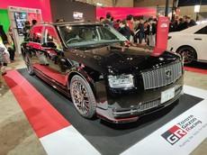 """Cận cảnh chiếc """"Rolls-Royce Nhật Bản"""" màu đen độc nhất vô nhị"""