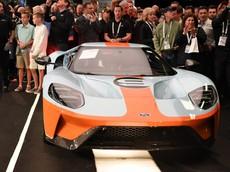 Siêu xe Ford GT 001 2019 kỷ niệm 50 năm chiến thắng giải đua Le Mans được bán đấu giá lên đến 58 tỷ đồng
