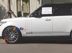 Đỗ xe qua đêm, SUV hạng sang Range Rover Autobiography hơn 7 tỷ đồng bị bảo vệ khoá bánh
