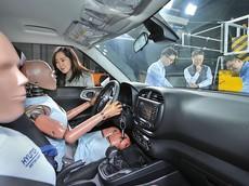 Hyundai đang nghiên cứu công nghệ túi khí có thể bung ra ở cả lần va chạm thứ hai, thứ ba liên tiếp