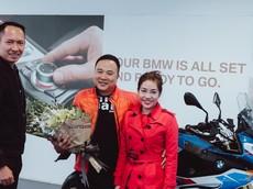 """Sport Touring hàng """"khủng"""" BMW S1000XR đầu tiên do Thaco phân phối về tay khách hàng"""
