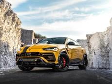 """""""Quái vật"""" siêu SUV Lamborghini Urus mạnh hơn 160 mã lực so với xe của Minh """"Nhựa"""""""