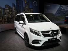 MPV hạng sang Mercedes-Benz V-Class 2019 trình làng, có thể lắp thêm ghế của S-Class