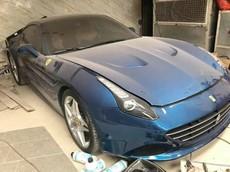 Tết Kỷ Hợi đã cận kề nhưng thật sự đau xót khi bắt gặp siêu xe Ferrari California T phủ bụi dày đặc tại Hải Phòng