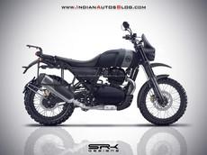 Mẫu xế phượt Royal Enfield Himalayan sẽ trang bị máy 650cc, có thể ra mắt vào cuối năm nay