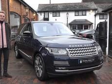 Range Rover Autobiography của phu quân Nữ hoàng Anh được rao bán với giá cao