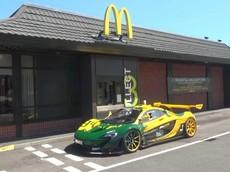 """Toàn cảnh màn """"phá"""" siêu xe McLaren P1 GTR chỉ dành cho đường đua"""