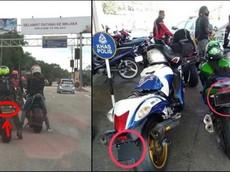 Giới biker Singapore giấu biển số tránh camera phạt nguội gây thất thoát 550 tỷ đồng cho chính phủ