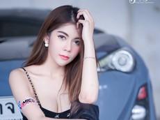 Tan chảy cùng người mẫu Thái Lan sở hữu thân hình đẫy đà nóng bỏng