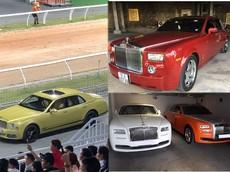 """Dàn xe siêu sang toàn Rolls-Royce và Bentley trị giá hơn 89 tỷ đồng của doanh nhân Dũng """"Lò Vôi"""""""