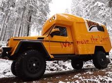 Chiếc Mercedes G-Class độ này là phương tiện đi cắm trại off-road phi thường