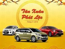 """Kia Việt Nam """"phát lộc đầu năm"""" cho khách hàng mua xe trong tháng 2/2019"""