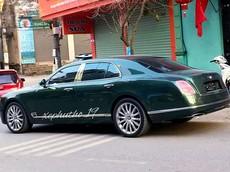 Xe siêu sang Bentley Mulsanne thế hệ mới đầu tiên cập bến Phú Thọ