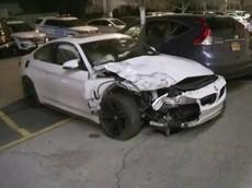 Hai người lái xe sang BMW đua tốc độ với nhau, gây tai nạn nghiêm trọng