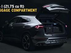 Lamborghini tung video mới chứng minh tính thực dụng của SUV Urus