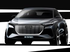 Audi chính thức hé lộ thiết kế của Q4 e-tron, một mẫu SUV cỡ C hoàn toàn mới