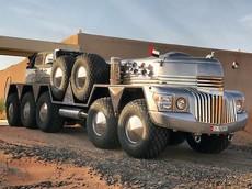Dhabiyan - Phương tiện 10 bánh siêu điên cuồng chế tạo dựa trên xe quân sự chỉ có ở Dubai