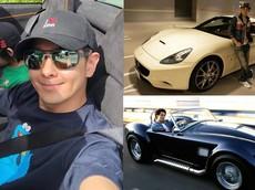 Ngưỡng mộ với bộ sưu tập siêu xe ấn tượng của nam diễn viên, tay đua xe công thức 1 Lâm Chí Dĩnh