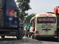 Tai nạn nghiêm trọng tại Hòa Lạc - Xuân Mai khiến 2 người tử vong