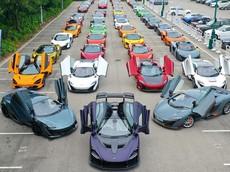 Hàng trăm siêu xe McLaren tụ tập tại Hồng Kông mừng sự có mặt của siêu phẩm hàng hiếm Senna thứ 2