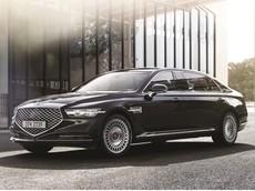 """Genesis G90 Limousine 2019 - Lựa chọn """"giá mềm"""" thay thế Mercedes-Maybach S-Class ra mắt ở Hàn Quốc"""