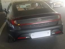 Hyundai Sonata 2020 lộ diện rõ hơn trước ngày ra mắt