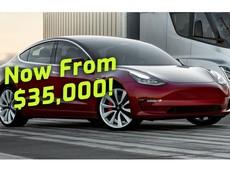 Sau gần 2 năm chờ đợi, Tesla cuối cùng đã ra mắt phiên bản Model 3 giá rẻ 35.000 USD