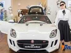 Chán Mercedes-Benz, Á hậu Huyền My tậu xế thể thao Jaguar F-Type
