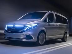Mercedes-Benz EQV - Mẫu concept van điện dựa trên V-Class chính thức hiện hình