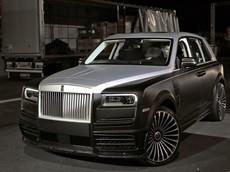 Rolls-Royce Cullinan phiên bản tỷ phú Mansory trình làng, đắt gần gấp 3 lần xe tiêu chuẩn