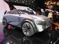 Nissan hé lộ thiết kế Crossover mới thông qua mẫu IMQ Concept