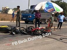 Bình Dương: Đối đầu Honda Winner, người điều khiển Yamaha Exciter tử vong tại chỗ