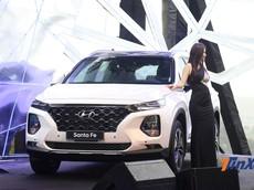 "Sau Tết, doanh số của Hyundai Santa Fe 2019 ""tụt dốc không phanh"""