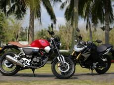 Honda ra mắt mẫu xe côn tay mới mang tên Honda CB190SS theo phong cách Neo Sport Cafe tại Trung Quốc