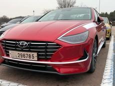 """Chiêm ngưỡng hình ảnh """"bằng xương, bằng thịt"""" đầu tiên của Hyundai Sonata 2020 sắp ra mắt"""