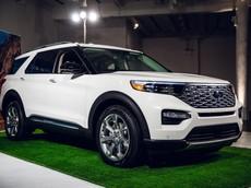 """Ford Explorer 2020 sẽ về Việt Nam trong tương lai được trang bị lốp tự vá khi """"ăn đinh"""""""