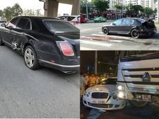 Những vụ tai nạn của xe tiền tỷ Bentley tại Việt Nam khiến nhiều người phải sợ hãi khi nghĩ đến số tiền đền bù