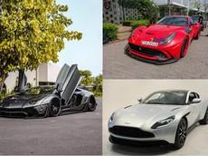 Bộ 3 siêu xe tuyệt đẹp hơn 55 tỷ đồng của doanh nhân đến từ Vũng Tàu