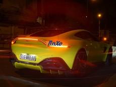 """Siêu xe Aston Martin V8 Vantage 2018 của doanh nhân quận 12 ra biển siêu """"khủng"""""""