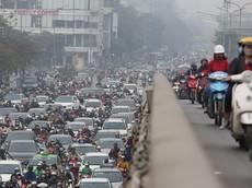 Lộ trình dừng, cấm xe máy tại Hà Nội