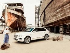 """Đại gia vùng Vịnh """"chịu chơi"""" khi đặt mua 5 chiếc SUV siêu sang Bentley Bentayga Pearl Of The Gulf"""