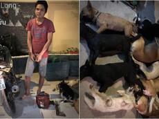 """Trộm chó """"cưỡi"""" Yamaha Exciter bị """"tóm gọn"""" tại Biên Hòa"""