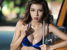 Mát mẻ cuối tuần với người đẹp 9x diện bikini khêu gợi